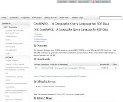 GeoSPARQL - A Geographic Query Language for RDF Data