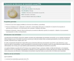 Prevención de infecciones de transmisión sexual (ITS)