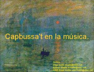 Capbussa't en la música