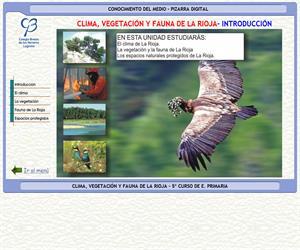 Clima, vegetación y fauna de La Rioja – Conocimiento del medio – 3º Ciclo de E. Primaria – Unidad didáctica.