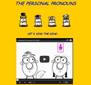 The personal pronouns (englishexercises)