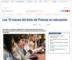 Las 10 claves del éxito de Polonia en educación | InfoBAE