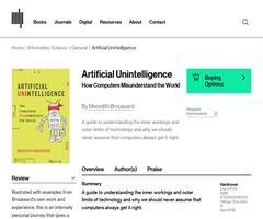 Artificial Unintelligence, o cómo los ordenadores entienden mal el mundo