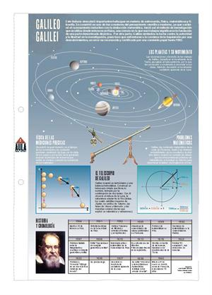 Galileo Galilei. Láminas de El Mundo