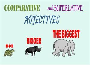 Comparatives and superlatives (British Council)