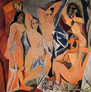 Les Demoiselles d´Avignon (Las señoritas de Aviñón). Pablo Picasso (ArteHistoria)