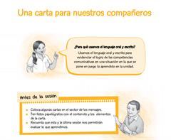 La carta, un medio para dialogar (PerúEduca)