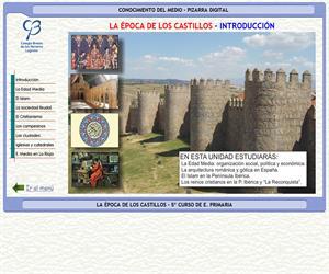 Historia. La época de los castillos – Conocimiento del medio – 3º Ciclo de E. Primaria – Unidad didáctica.