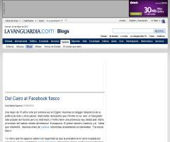 Del Cairo al Facebook fiasco