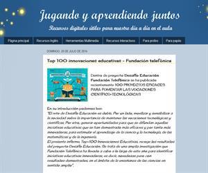 Top 100 innovaciones educativas - Fundación telefónica