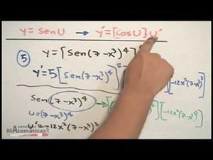 Derivada de una función seno (math2me)