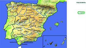 Las aguas de España. Ríos de España