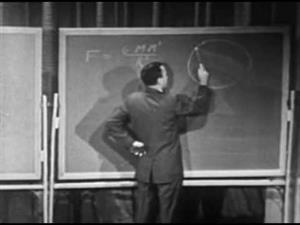 Ley de la gravitación, por Richard Feynman