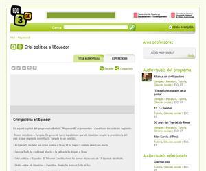 Crisi política a l'Equador (Edu3.cat)