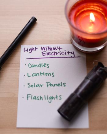 No Electricity? No !