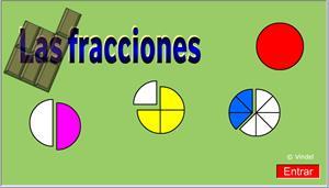 Juego de fracciones (Cuadernos Vindel)