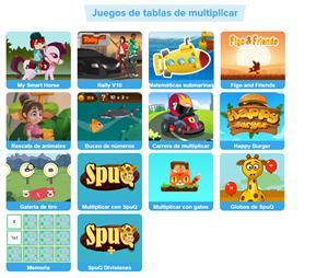 Tablas de multiplicar. Mario Ramos