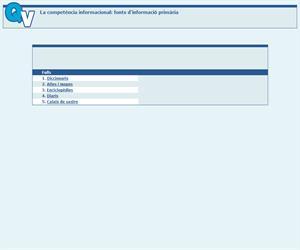 La competència informacional: fonts d'informació primària