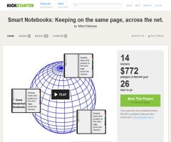 Smart Notebooks: Keeping on the same page, across the net