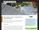 Guia en Ingles para mejorar el SEO de un blog de wordpress y adaptarlo a la Web Semantica