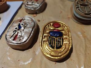 La momificación y sus amuletos, taller para el Antiguo Egipto