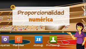 Proporcionalidad numérica (básico) - Unidad interactiva