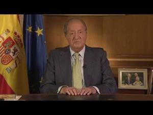 Mensaje de Su Majestad el Rey a los españoles anunciando la abdicación a la Corona