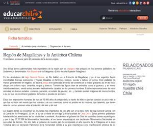 12ava Región Patrimonio Regional (Educarchile)