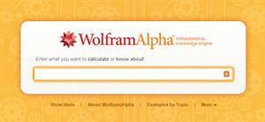 Wolfram|Alpha—Computational Knowledge Engine