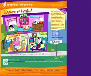 Página web para el fomento de la lectura