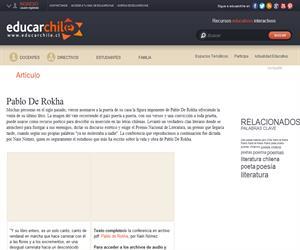 Pablo De Rokha (Educarchile)