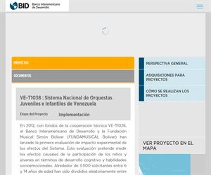La educación Musical como método de integración social. Sistema Nacional de Orquestas Juveniles e Infantiles de Venezuela