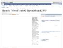 """El nuevo """"e-book"""" ya está disponible en EEUU"""