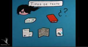 Cómo conocer los tipos de texto. Practicopedia