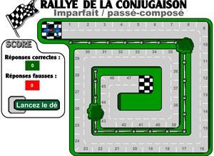Rallye de la Conjugaison. Imparfait/Passé Composé