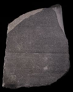 The Rosetta Stone (ancientegypt.co.uk)