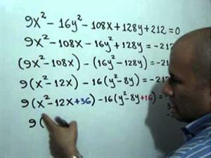Ecuación y gráfica de una Hipérbola. Parte 1 de 2 (JulioProfe)