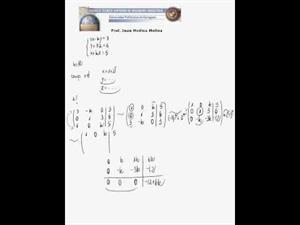Problema sobre determinación de un sistema de ecuaciones partiendo de las soluciones
