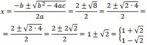 Equacions de segon grau completes i incompletes