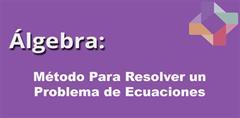 Método para resolver un problema de ecuaciones (PerúEduca)