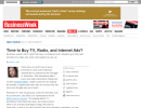Time to Buy TV, Radio, and Internet Ads?