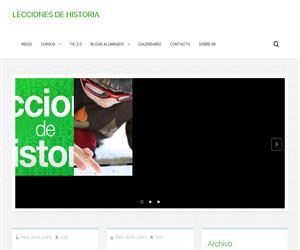 Blog para la enseñanza de Ciencias Sociales, Geografía e Historia (leccionesdehistoria.com)