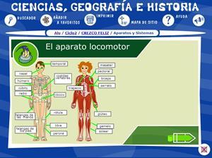 Aparato locomotor  y sistema óseo (Proyecto Alquimia)