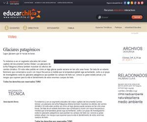 Capítulo 8: Glaciares patagónicos (Educarchile)
