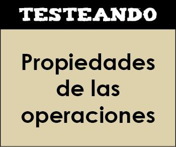 Propiedades de las operaciones. 4º Primaria - Matemáticas (Testeando)