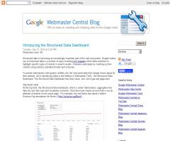 Introducing the Structured Data Dashboard (Nueva herramienta de Google para datos estructurados)