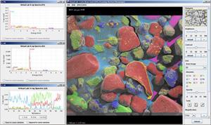 Microscopio virtual para clase de biología
