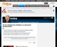 De las inteligencias múltiples a la educación personalizada - RTVE