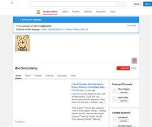 Doodleacademy: un canal de vídeos para aprender a dibujar