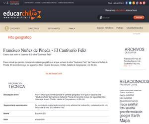 Francisco Nuñez de Pineda - El Cautiverio Feliz (Educarchile)